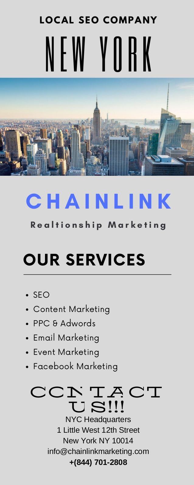 Need A Local Seo Company For Better Business Leads Chainlink