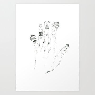 stories+Art+Print+by+daggy+jess+-+$15.00