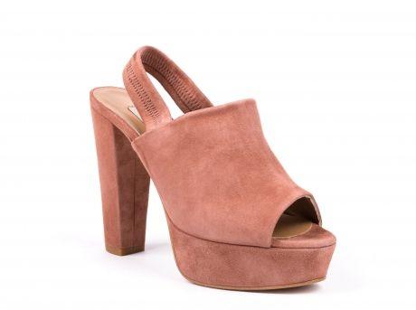 ZILIAN :: Sapatos de Senhora | Botas, botins, rasos ou salto alto :: NEW COLLECTION :: Sapatos em camurça rosa seco
