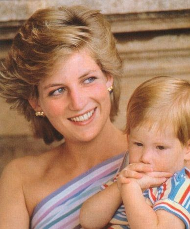 Princess Diana & Harry