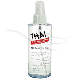 Thai-deodoranterna består huvudsakligen av mineralsaltet kalium-alun (Potassium alum), som på ett mycket effektivt sätt tar hand om de luktframkallande bakterierna, exempelvis i armhålan, men utan att täppa till porerna och hindra kroppens andning. Thai-deodoranterna är rena naturprodukter och är helt fria från aluminium(klorid).