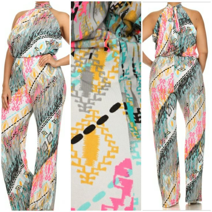 Aztec jumpsuit · Breaking All Rules Boutique · Online Store Powered by Storenvy