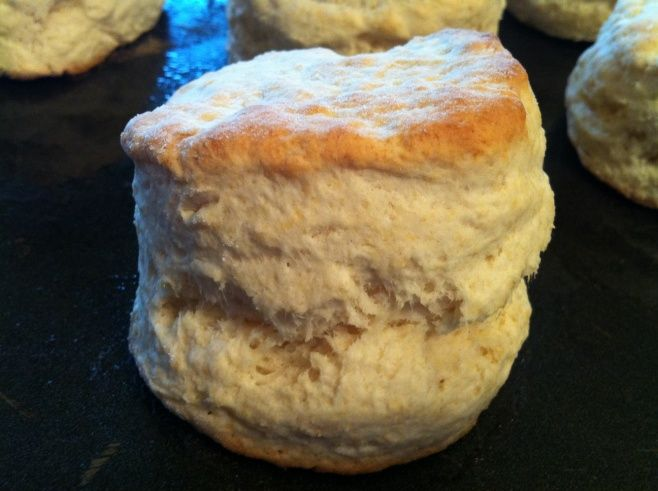 Love, love, LOVE these delicious homemade biscuits! They are so easy too - just 3 ingredients!!!