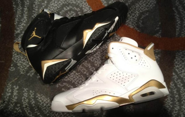 Air Jordan 6 and 7 Gold Medal Pack...  Releasing later this year. $350    Worth it?