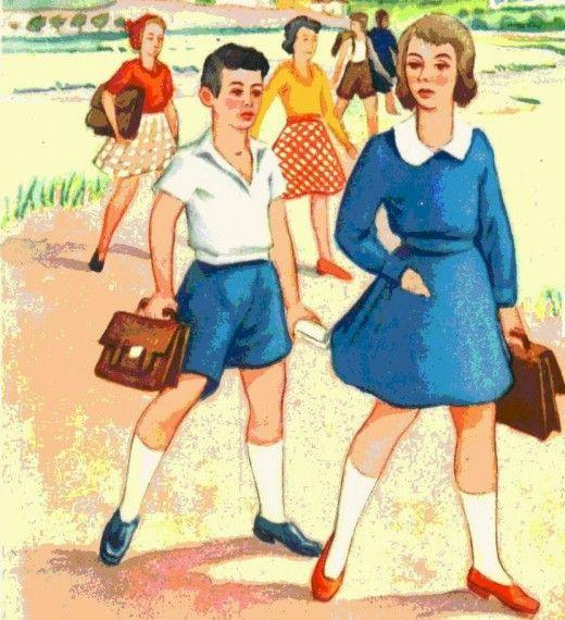 H πρώτη μέρα στο σχολείο ήταν η μέρα που η ζωή σου άλλαζε για πάντα...