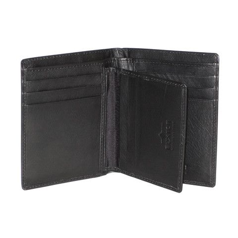 Huston RFID Collection - Deluxe Two-Fold $29.00 #buxton #leather #wallet