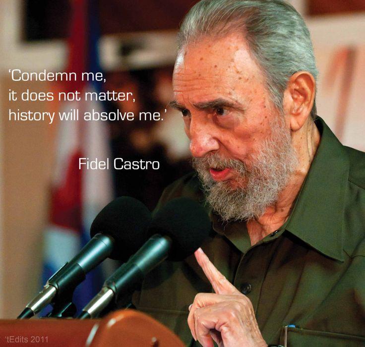 Fidel Castro's quote