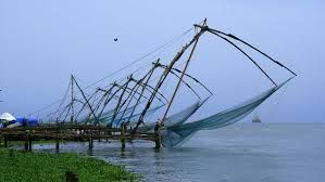 Chineese Fishing nets in Cochin