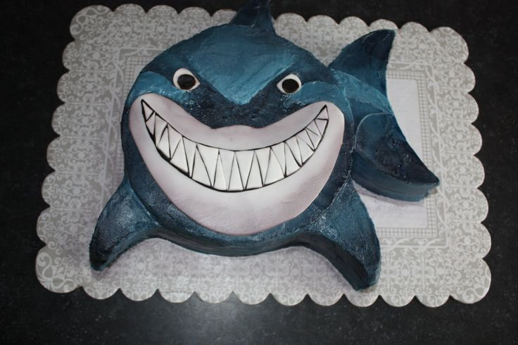 Easy Shark Cake | That Makes the Cake