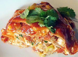 Cheese Enchiladas Unwrapped