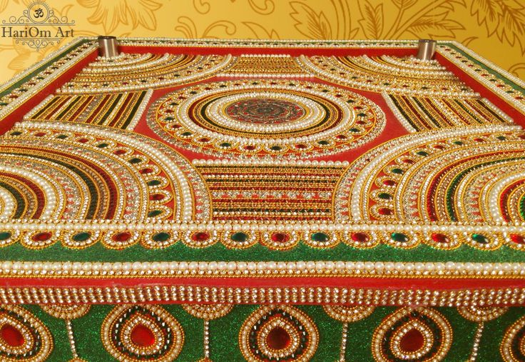 Royal chowki for Indian wedding and holy rituals by HariOm Art