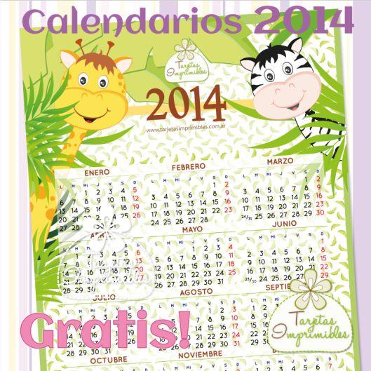 Calendario para imprimir GRATIS!!!