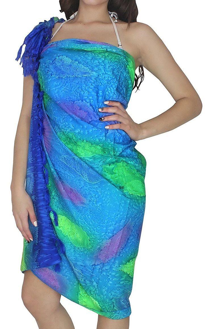 Sarong Swimsuit Pareo Wrap Bikini Cover Ups Resort Skirt Swimsuit Swimwear