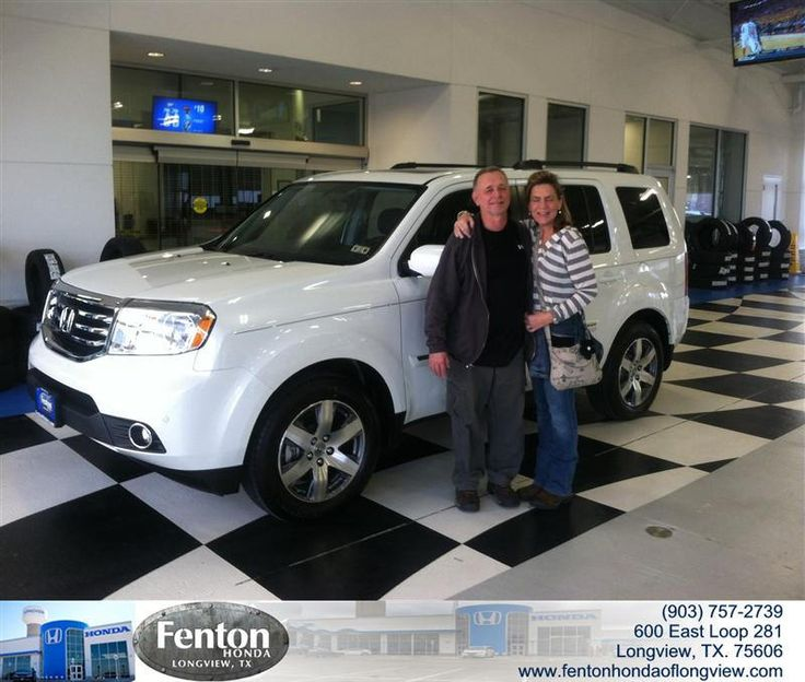 Congratulations to Meredith Clay on your #Honda #Pilot purchase from Raul Hernandez at Fenton Honda of Longview! #NewCar