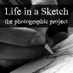 Life in a sketch - new photographic project / www.lifeinasketch.it #drawing #hands #cartoonists #photography