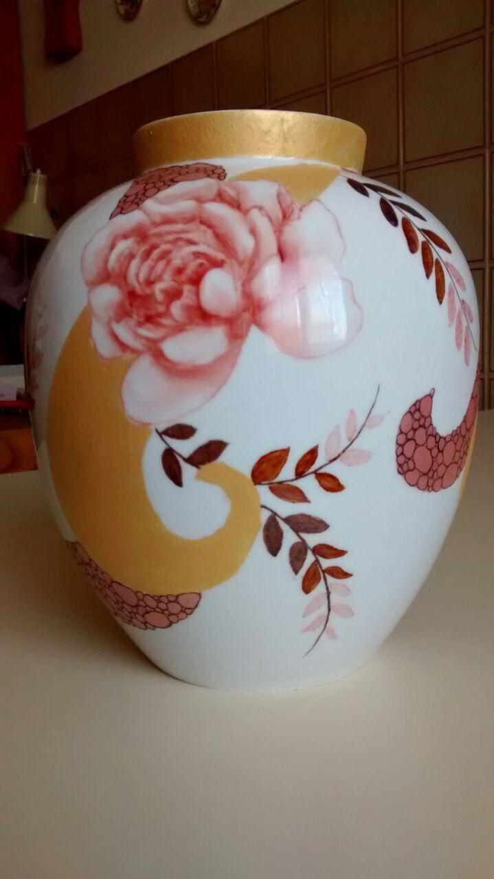 LUISA MELONI porcelain painting
