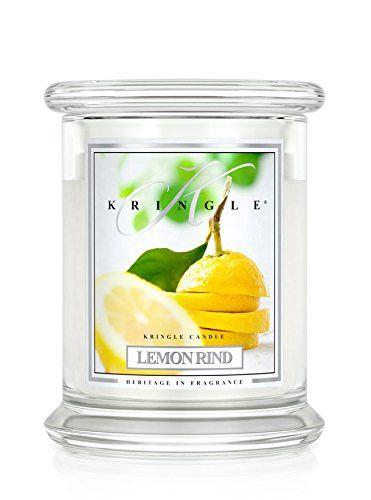 14.5oz 2 wick Classic Candle: Lemon Rind