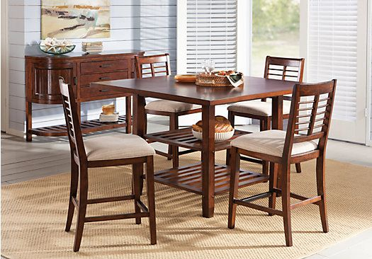 lauderhill 5 pc dining room at rooms to go find dining room sets