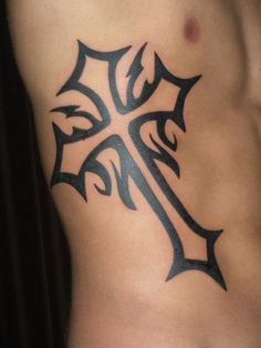 cross tattoos for men | star arm tattoo black and white cross tattoo celtic cross tattoo ...