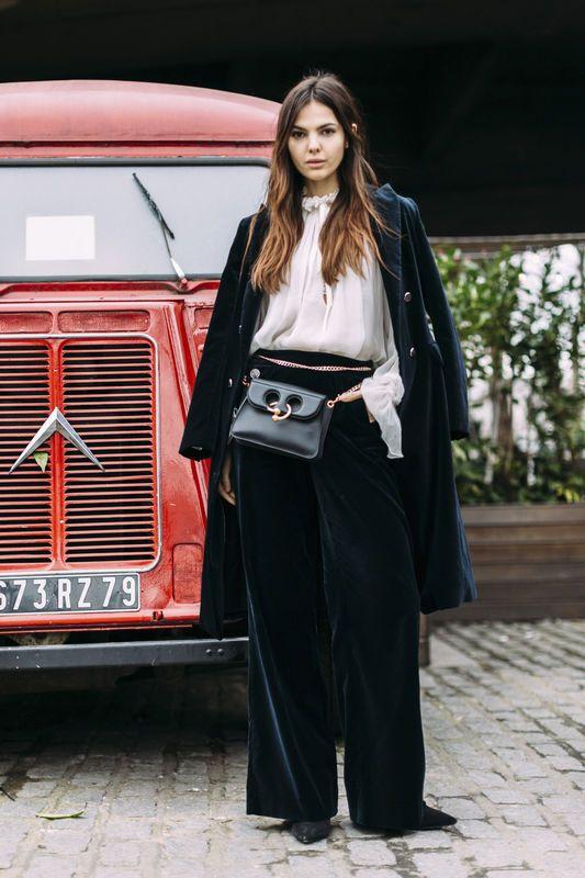Street fashion: London Fashion Week jesień-zima 2017/2018