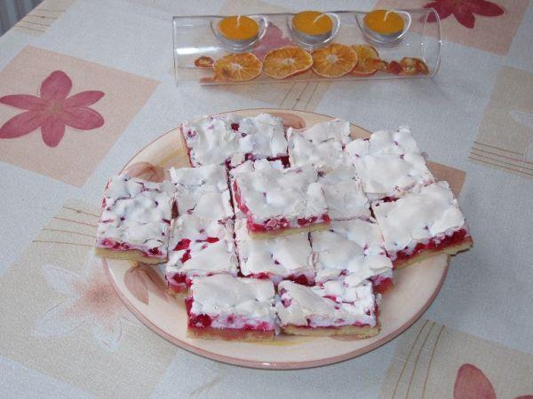 Rybízový koláč - jiný a zajímavý!!