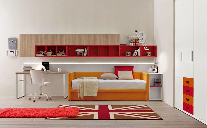 Oltre 25 fantastiche idee su camera da letto urbano su pinterest camera da letto urban - Scrivania camera da letto ...