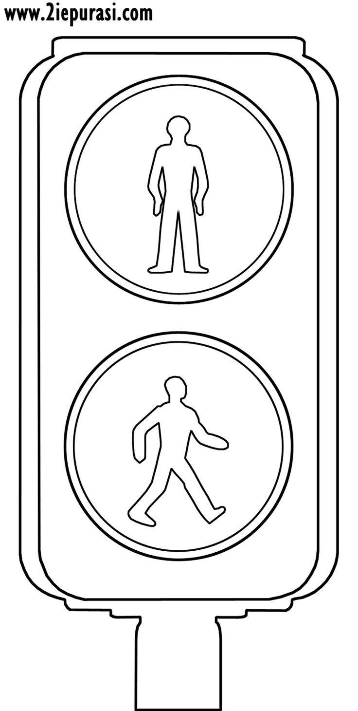 Αποτέλεσμα εικόνας για fußgängerampel ausmalbild