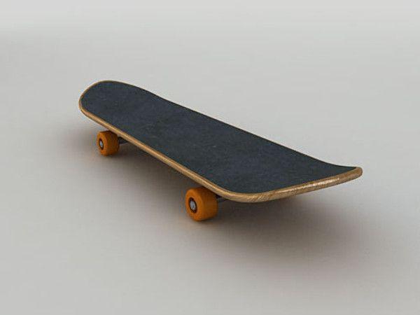 3D Skateboard Model - 3D Model