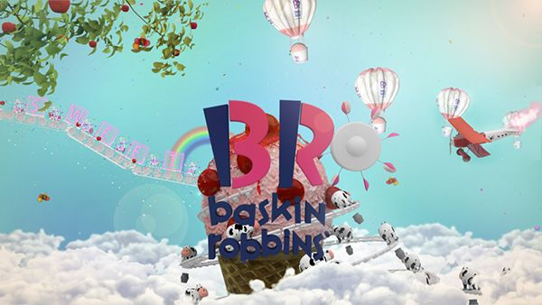 Baskin Robbins on Behance