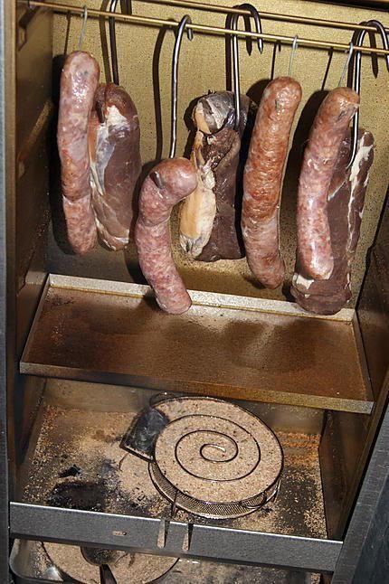 La meilleure recette de Bacon fumé! L'essayer, c'est l'adopter! 5.0/5 (8 votes), 16 Commentaires. Ingrédients: 1 filet mignon (ou un rôti dans le filet) Gros sel de Guérande, Herbes au choix pour le salage ou non, de la sciure non traité, des baies de genièvre, des mélanges 5 baies... pour mettre dans la sciure. et bien évidemment un fumoir.