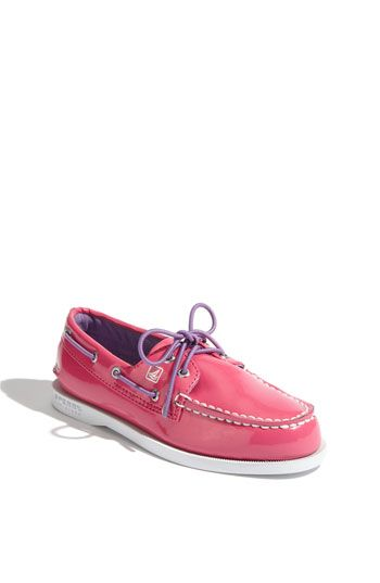 BUYING THESE FOR ABI'S EASTER :) Sperry Top-Sider® 'Authentic Original' Boat Shoe (Walker, Toddler, Little Kid & Big Kid) | Nordstrom