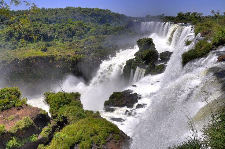 Iguazu-vízesés, Brazília