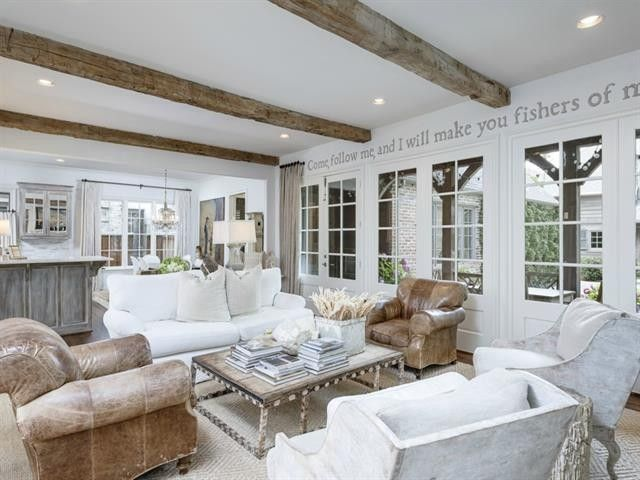French Country House Tour Its Overflowing Shabby Chic Furniture Pinte