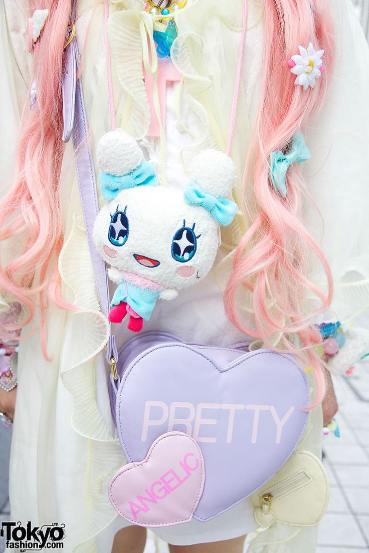 162 best tamagotchi images on pinterest 90s toys kawaii and cute plush character angelic pretty bag geenschuldenfo Image collections