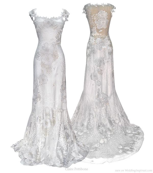 Orange Blossom wedding dress from Claire Pettibone 2010 bridal gown collection