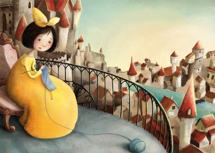 Snow White by 4leafcloverVN