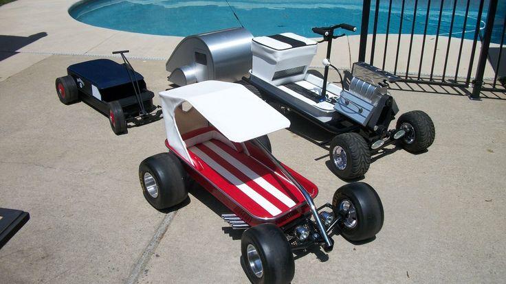 Custom Road Master Radio Flyer Wagon Low Rider Hot Rod Rat Rod | eBay