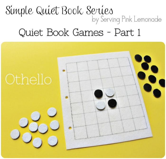 Simple Quiet Book Series – Othello Game