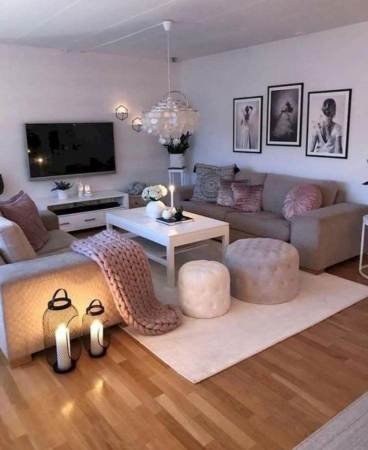 70 Apartment Living Room Decorating Ideas | Simple living ...