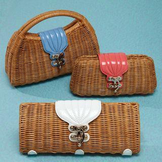 Wicker bags, great shapes