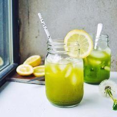 Limonada de Té Verde Matcha – Half & Half Mx