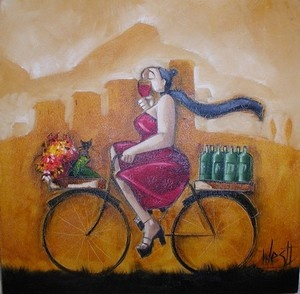 "Ronald West. ""Wine delivery 2"""
