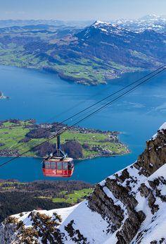 Mount Pilatus Cable Car  Switzerland http://kruiser.ro/portfolio-posts/citroen-c8/