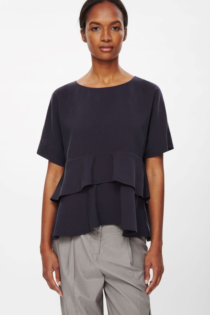 COS | Loose-fit layered top