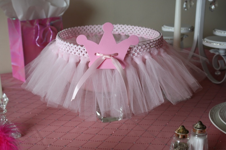 Pink Princess Tulle Party Decorations, Chair Skirt, Cake Skirt, Wreath, Chandelier, Garland,  Crown Accent. $139.00, via Etsy.