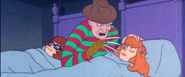 Quand le gang de Scooby-Doo fait face aux méchants des films d'horreur #Jason #Scream #Freddie