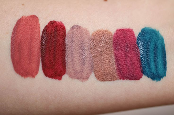 Lime Crime Velvetines Swatches Sammlung Review