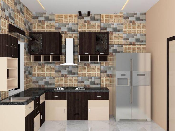 Modular kitchen designs kolkata residential kitchen for Kitchen design kolkata