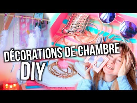 DIY DÉCORATIONS DE CHAMBRE TUMBLR!! | Emma Verde - YouTube