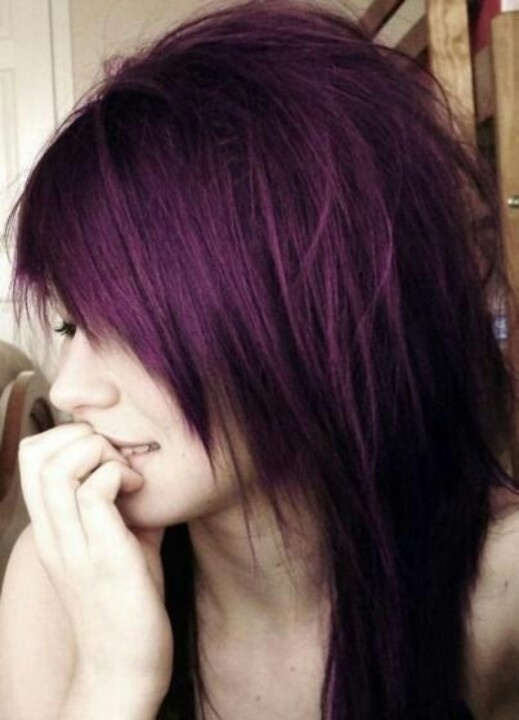 Purple hair?? I say yes